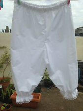 bloomers big n baggy plus size  white more colours available (37)