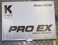 K - RAIN PRO EX MODEL 3200 IRRIGATION CONTROLLER COMES W/ 4 STATION MODULE
