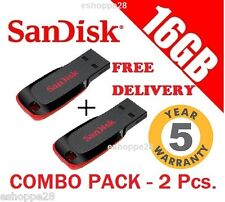16GB SANDISK PEN DRIVE (COMBO PACK - 2 Pcs.)