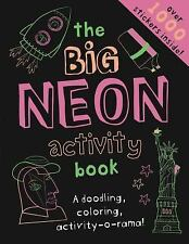 The Big Neon Activity Book by Frankie Jones and Gemma Cooper (2016, Paperback)