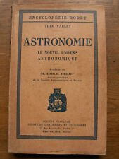 THEO VARLET ASTRONOMIE ENCYCLOPEDIE RORET 1934 ESPACE ASTRES PLANETES PLANCHES