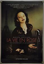 LA VIE EN ROSE DS ROLLED ORIG 1SH MOVIE POSTER MARION COTILLARD EDITH PIAF(2007)