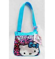 NWT Sanrio Hello Kitty Cross Bag Handbag Purse Small Tote Bag Shoulder Bag Blue