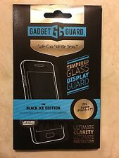 """Gadget Guard Black Ice Tempered Glass Screen Protector for iPhone 7/6/6s, 4.7"""""""