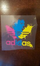 """ADIDAS PATCH  Logo/ Emblem PATCH HOT IRON ON TRANSFER    patch 3"""" x 3"""" Colorful"""