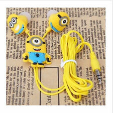 Me Minions model cartoon headphones