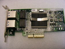 Dualport Gigabit NIC 1000 PCI-E LOW PROFILE DELL HP IBM NC360T 412646-001 0x3959