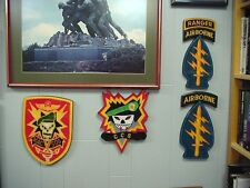 MACV-SOG Recognition/Award Wall Plaque, Mint Condition, in original PX package