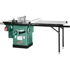 """G1023RLX Grizzly 10"""" 3 HP 240V Cabinet Left-Tilting Table Saw"""