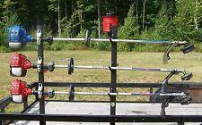 3-Place Trimmer Rack - OPEN Landscape Trailer - FREE 3 LB. Trim line Holder PK-6