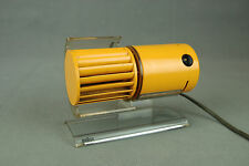 Orange BRAUN HL70 Desk FAN Reinhold Weiss Germany Modernist Vintage 70s 80s Era
