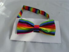 Any Polyester Ready Pre-tied Mens Bow tie  Over 60 Colours   P&P 2UK   1st Class