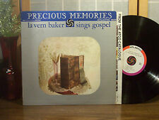 "LaVERN BAKER LP ""Sings Gospel"" ORIGINAL ATLANTIC ""Bullseye Label"" D/G VG+"