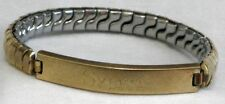 "Flex -Let ""Sylvia"" Expansion Bracelet 1/15 12KT   S"