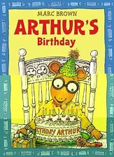 Arthur's Birthday by Marc Brown (1991, Paperback)