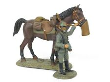 Frontline Figures GWW.5 German Ulan Regiment Trooper Holding Horse Dismounted
