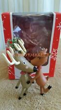Carlton/American Greetings 2016 Romance Reindeer Mistletoe Christmas Ornament