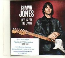 (DR890) Shawn Jones, Life Is For The Living  - 2013 DJ CD