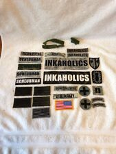 US Army Patches American Flag Camo Velcro Inkaholics Ranger Patch Bonecrackers G