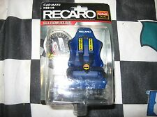 RECARO RACING SEAT CELLULAR PHONE HOLDER { BLUE }