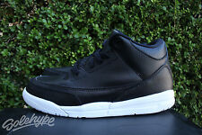 NIKE AIR JORDAN III 3 RETRO BP PS SZ 3 CYBER MONDAY KIDS BLACK WHITE 429487 020