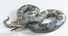 LARGE RUBBER SCARY SNAKE FANCY DRESS HALLOWEEN PYTHON REALISTIC BENDABLE PROP BN