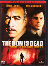 The Don Is Dead (DVD) Very Good - Mafia - Anthony Quinn