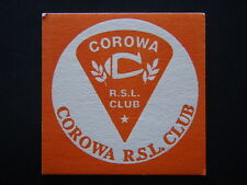 COROWA RSL CLUB JONJAY GOLF BUGGIES HARRIS BUTCHERY CLEANING SERVICE COASTER