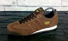 "BNWB & Genuine Adidas Originals Dragon ""Chile 62"" Leather Trainers UK Size 7.5"