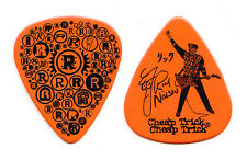 Cheap Trick Rick Nielsen Orange R's Guitar Pick - 2010 Tour