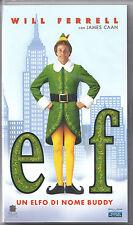 Elf. Un elfo di nome Buddy (2003) Videocassetta NUOVA SIGILLATA Will Ferrell