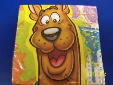 RARE Here Comes Scooby-Doo Cartoon Dog Birthday Party Paper Beverage Napkins