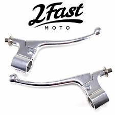 2FastMoto Amal Style Lever Set Brake Clutch Pair British Vintage Classic Triumph