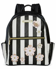 NWT Betsey Johnson Betsey Johnson Striped Floral Backpack - SOLD OUT EVERYWHERE