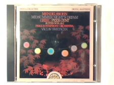 VACLAV SMETACEK Mendelssohn: Midsummer night's dream- Grieg: Peer gynt cd RARE