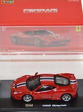 Bburago - 18-36901 - Ferrari 458 Speciale Signature Series Scale 1:43 - Red