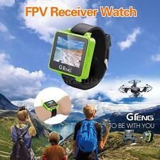 GTeng T909 5.8G FPV Artifact 32CH Receiver 2 inch LCD Wearable Watch N2I7