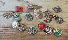 18-20mm Button Snaps - 5pc Mix Snap Lot - Fits Ginger Brands #9