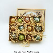 """BETHANY LOWE 1.25"""" PASTEL MECURY GLASS ORNAMENTS (BOX OF 12)"""