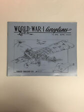 World War 1 Aeroplanes Magazine No. 89 April 1982