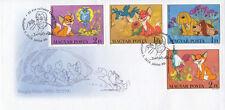 Attila Dargay Born 85 Years Ago (stamp FDC)