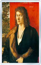 ALBRETCH DURER PORTRAIT OF OSWOLT KREL 1499 ART FRIDGE MAGNET IMAN NEVERA