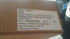 Pottery Barn Hayden Lavatory Bathroom  Faucet Satin nickel  New in box