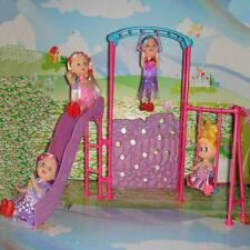 Miniature Playground Slide Climber 1/6 for Barbie Kelly Doll House Furniture