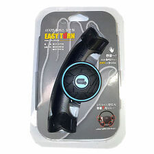 Car Steering Wheel Knob Power Handle Spinner Suicide Easy Turn Safe Slim Blue