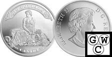 2010 Proof $10 75th Anniversary of First Bankote .9999 Fine Silver Coin (12676)