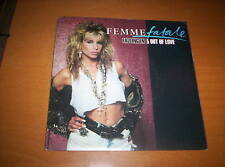"""FEMME FATALE  """"FALLING IN & OUT OF LOVE""""   7 INCH 45   1988"""