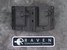 NEW RAVEN CONCEALMENT COPIA 9 40 357 DOUBLE MAGAZINE MAG TALL HOLSTER UNIVERSAL