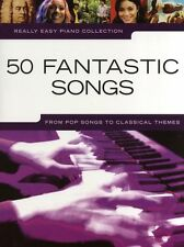Learn to Play 50 Really Easy Songs Piano Pop Music Book POP ABBA DISNEY SONGS