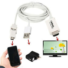 Micro USB MHL to HDMI 1080P For Android Cell Phones TV Cable Adapter